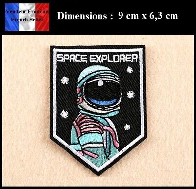 Écusson Brodé Thermocollant NEUF ( Patch Embroidered ) - Space Explorer