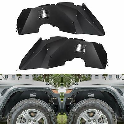 Set Front /& Rear Section For 05-09 Ford Mustang 4 Fender Splash Shield Liners