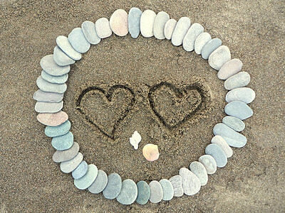 400 Wedding Guest Book Alternative Stones  - Pebbles To Write On
