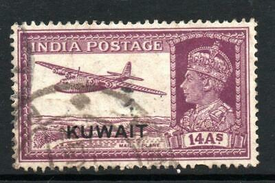 Kuwait 1945  14As   fine used Sg 63  cat £25