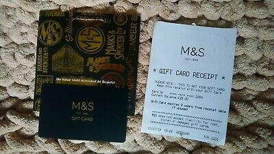 M&S Gift Card Marks and Spencer £25 Gift Card