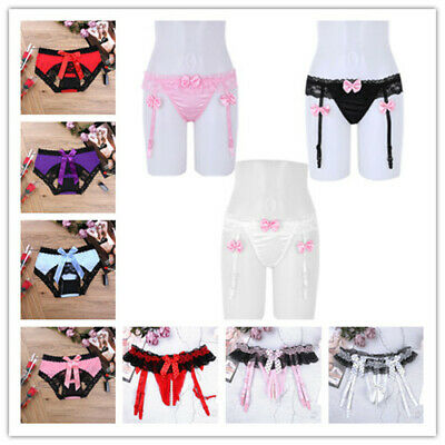 Sexy Women Thongs Knickers Lace G-Strings Bikini Pouch Underwear Panties Briefs