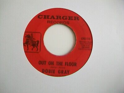 """Dobie Gray - Out On The Dance Floor - Usa 7"""" - 1966, Charger , Crg-115"""