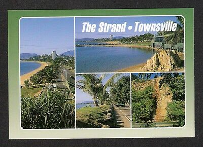QLD - c1980s POSTCARD - THE STRAND, TOWNSVILLE, QUEENSLAND