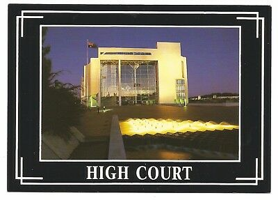 ACT - c1980s POSTCARD - THE HIGH COURT AT NIGHT, CANBERRA, ACT