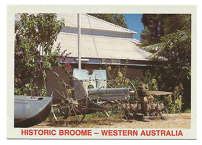 WA - c1980s POSTCARD - OLD CUSTOMS HOUSE, NOW BROOME HISTORICAL MUSEUM, BROOME
