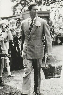 FAMILLE ROYALE ANGLETERRE Prince CHARLES Photo Presse Originale