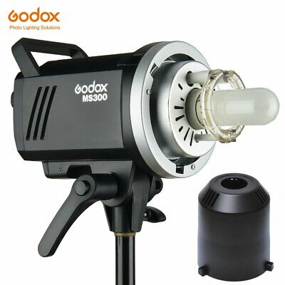 Godox MS300 300W GN58 2.4G Wireless 5600±200k Compact Studio Flash Bowens Mount