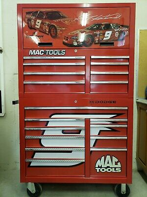 Autographed 2005 Kasey Kahne Collectable Mac Toolbox