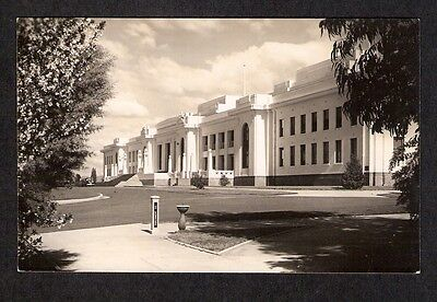 ACT - c1950s POSTCARD - FEDERAL PARLIAMENT HOUSE, CANBERRA, ACT