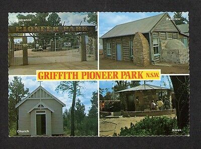 NSW - c1970s POSTCARD - GRIFFITH PIONEER PARK, NEW SOUTH WALES