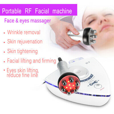 Electric RF Wrinkle Removal Skin Lifting Rejuvenation AntiAging Machine Massger