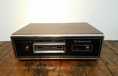 Vintage Panasonic RS-845US Stereo Quadraphonic 4-Ch. 8-Track Tape Deck Player