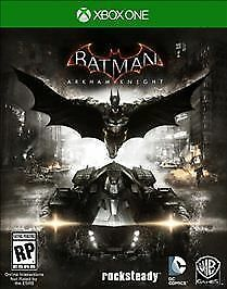 Batman: Arkham Knight (Microsoft Xbox One, 2015) Excellent condition, complete