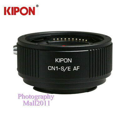 KIPON Auto Focus AF Adapter for Contax N CN1 Lens to Sony E-Mount Camera NEX-7
