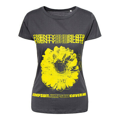 TWENTY ONE PILOTS Daisy Grey T SHIRT - Official Womens Trench 21 Band Tee