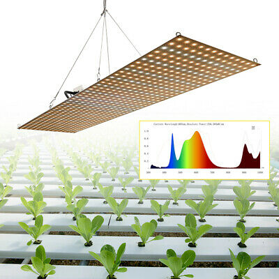 New 500W Full Spectrum Dimmable LED Grow Light Lamp For Hydroponic Greenhouse