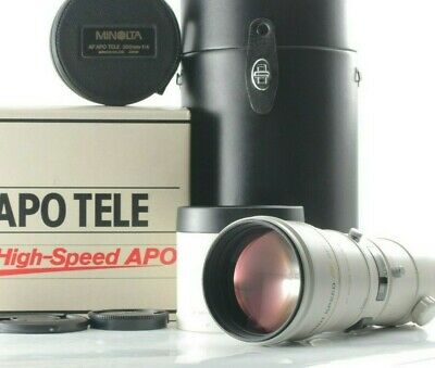 [Near Mint] Minolta AF 300mm f/4 G APO Tele High Speed Sony A Alpha Lens in Box