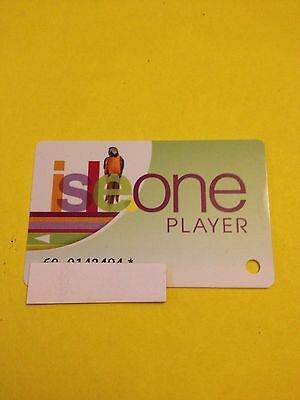 Casino Slot Players Isle One Card.  Isle Of Capri, Pompano Park, Fl.
