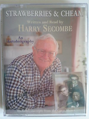 Strawberries And Cheam Harry Secombe New Audio Book 2 Cassettes Autobiography