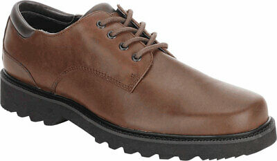 NEW MENS ROCKPORT Northfield Dark Brown WATERPROOF LEATHER