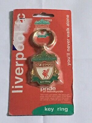 Liverpool Football Club Brand New And Sealed Official Merchandise Key Ring