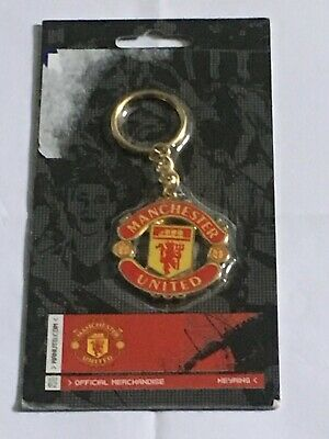 Manchester United Football Club Brand New Sealed Official Merchandise Key Ring