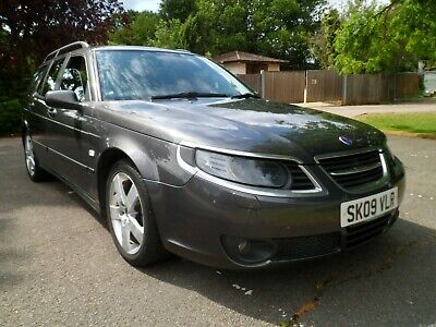 Saab 9-5 1.9 Tid Edition Estate Automatic Facelift Aircon/Leather /Cruise 2009