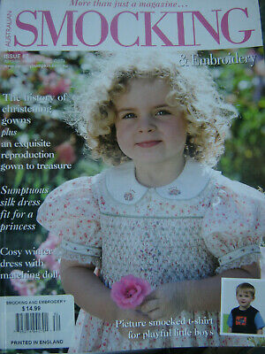 Smocking And Embroidery Magazine Issue No 82 2008 Printed in England Rare