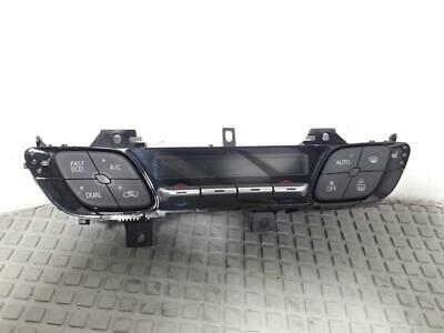 2017 Toyota C-HR 2017 On Heater Control Assembly