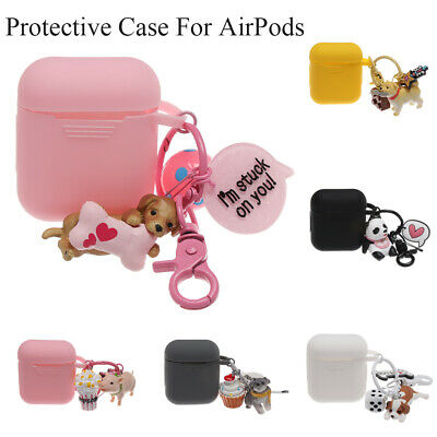 Dog Pig  Pendants Protective Sleeve For Apple Airpods|Airpods Charging Box
