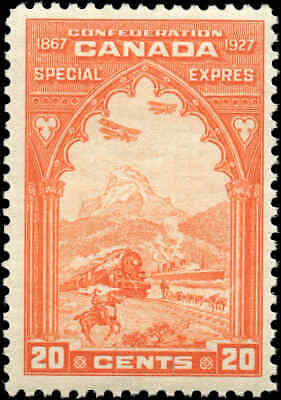 Canada Mint NH 1927 F+ Scott #E3 20c Special Delivery Stamp