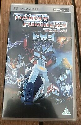 Transformers The Movie Psp Umd Video - Great Cond ! Free Postage - Rare