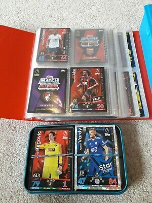 *MATCH ATTAX* 2018/2019 18/19 FOOTBALL CARDS (11 card bundle)