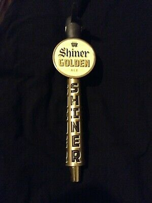 NEW Unused SHINER Golden Ale BEER Tap PULL Handle hard to find