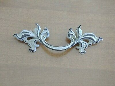 """Belwith Brass French Provincial Drawer Pull 3"""" Bore SP1751 White Gold Fancy"""