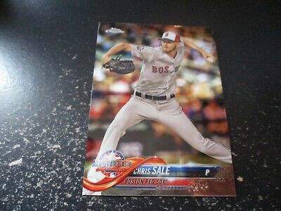 chris sale (boston red sox  pitcher) 2018 topps chrome all-star CARD #HNT83 mint