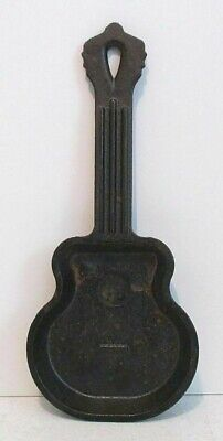 Lodge GSK Cast Iron Guitar Mini Skillet / Spoon Rest - Discontinued - some rust