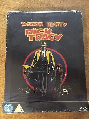 Dick Tracy Steelbook Bluray Neuf Sous Blister Zavvi Exclusive