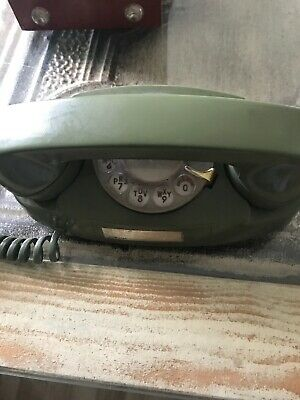 Green Vintage Western Electric Bell System Princess Rotary Phone 702B Tested