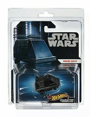 2019 Sdcc Exclusive Mattel Hot Wheels Star Wars Mouse Droid Character Car Inhand