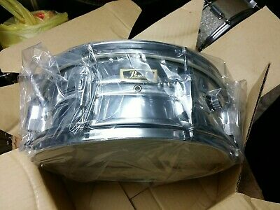 NOS IN BOX VINTAGE 1970S PEARL 5.5 x 14 MADE IN JAPAN SNARE DRUM 8 LUG W STAND