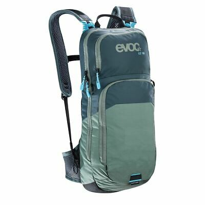 evoc CC Bike Backpack, 50 cm, 10 Liters, Slate/Olive
