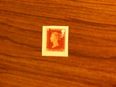 175th Anniversary of the Penny Red, single s/a stamp from booklet