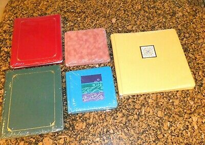 Creative Memories Scrapbook Album LOT of 5 Large Med. & Small Sealed NEW Crafts