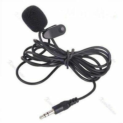 High Quality Professional Studio Clip Lavalier Microphone 3.5mm