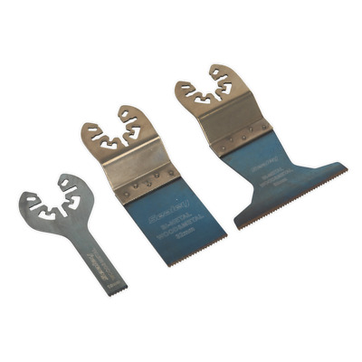 Sealey Multiple Outils Universel Coupe Lame Set 3pc SMTC3 - 5 An Garantie