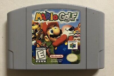 Authentic N64 Game Mario Golf ~ Cartridge Only Clean Tested & Works! Nintendo 64