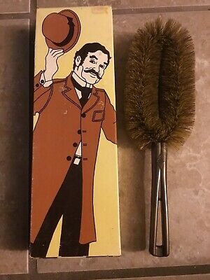 Vintage Stanley HOME PRODUCTS His Brush Life Time Guarantee Clothes Brush #3043