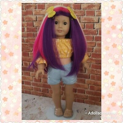 My Little Pony Inspired Customized hair American girl Doll
